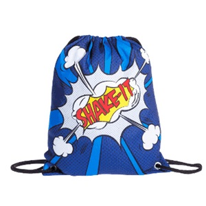 Shake-It batoh modrobílý