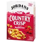 Jordans Country Crisp Cereálie s malinami 500g