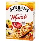 Jordans Celozrnné cereálie s ovocem a ořechy 750g