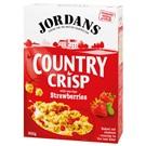 Jordans Country Crisp Cereálie s jahodami 500g