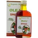 Organic Oils šípkový olej 100% sklo 200ml