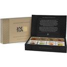 JAFTEA dárková sada černé čisté a ochucené čaje 100g