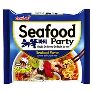 Samyang polévka Seafood party 125g