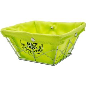 La Maison Košík látkový zelený citron