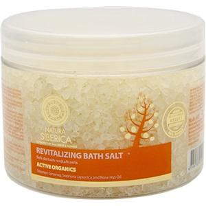 Natura Siberica koupelová sůl tonizující 600g