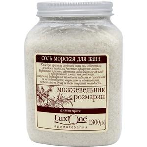 Lux One mořská koupelová sůl Antistres 1300g