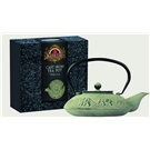Basilur litinová konvice na čaj šedo-zelená 1100ml