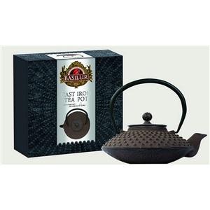 Basilur litinová konvice na čaj hnědá 500ml