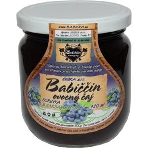 Babiččin čaj Borůvka s kardamomem sklo 420ml