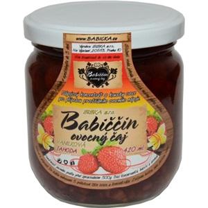 Babiččin čaj Vanilková jahoda sklo 420ml