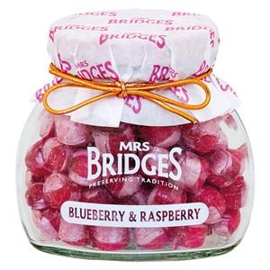 Mrs. Bridges bonbony borůvka a malina sklo 155g