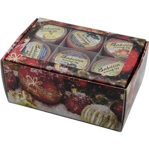 Babiččin čaj Dárková kazeta pečený čaj 6x55ml Vánoční červená