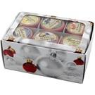 Babiččin čaj Dárková kazeta pečený čaj 6x55ml Vánoční bílá