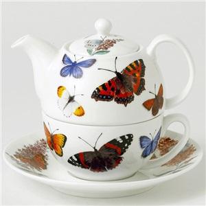 Roy Kirkham konvička s hrnkem Butterfly garden 400ml