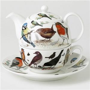 Roy Kirkham konvička s hrnkem Garden Birds 400ml