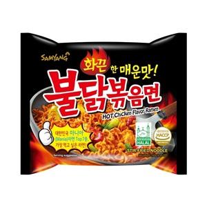 Samyang Buldak ramen velmi pálivá nudlové polévka 140g