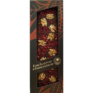 Severka Hořká čokoláda s vlašskými ořechy a višněmi 130g