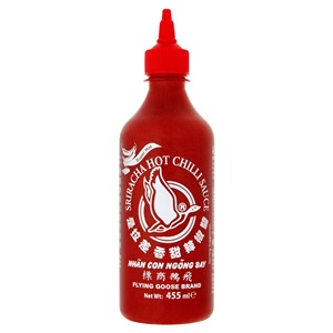 Flying Goose Sriracha extra pálivá chilli omáčka 455ml