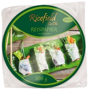 Ricefield rýžový papír 22cm 300g