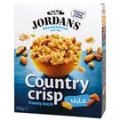 Jordans Country Crisp Cereálie s ořechy 400g