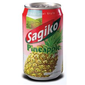 Sagiko ovocná limonáda Ananas plech 320ml