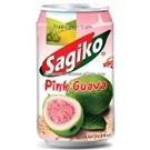 Sagiko ovocná limonáda Růžová guava plech 320ml