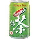 Sagiko ovocná limonáda Zelený čaj plech 320ml