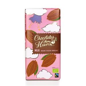 Chocolates from Heaven mléčná čokoláda 39% BIO 100g