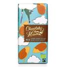 Chocolates from Heaven mléčná čokoláda s mandlemi a mořskou solí 37% BIO 100g