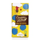 Chocolates from Heaven hořká čokoláda s borůvkami 72% BIO 100g