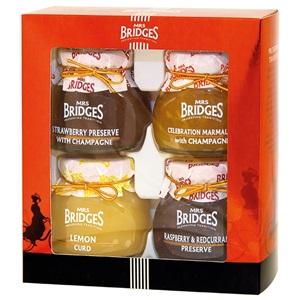 Mrs. Bridges dárková sada výběrových džemů 4x113g