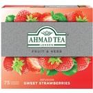 Ahmad ovocný čaj Sladká jahoda 75x2g