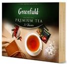 Greenfield kolekce černých, zelených, ovocných čajů ALU 30x4ks