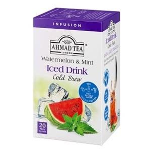 Ahmad ledový čaj Meloun s mátou ALU 20x2g