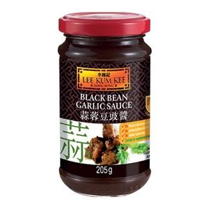 Lee Kum Kee česneková omáčka z černých fazolí sklo 205g