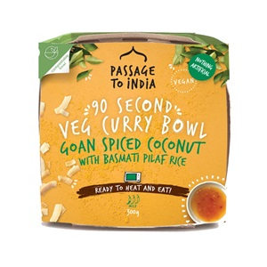 Passage To India kokosové kari s rýží basmati 300g