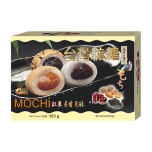 Awon Mochi želé Sezam Oříšky Červené fazole 180g