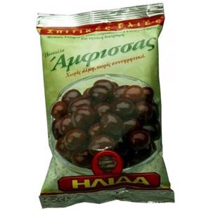 Ilida sušené olivy černé Amfissa s peckou 250g