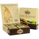 Basilur Leaf Of Ceylon sada černých a zeleného čaje 40ks ALU