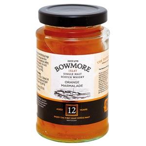 Bowmore pomerančová zavařenina s 12-letou whisky 235g
