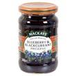 Mackay's džem borůvky a černý rybíz 340g
