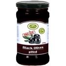 Korvel olivy černé Mammoth bez pecky sklo 290g