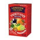 London Fruit & Herb výběr ovocných a kořeněných čajů 20x2g