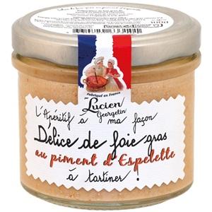 Lucien Georgelin Foie Gras s paprikou Espelette 100g