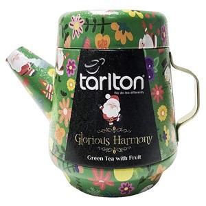 Tarlton Glorious harmony zelený čaj konvička plech 100g