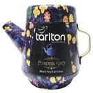 Tarlton Princess Grey černý čaj konvička plech 100g