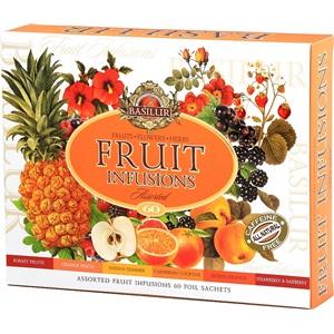 Basilur Fruit Infusions sada ovocných čajů ALU 6x10x1,8g